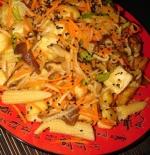 Сыр тофу с кунжутом и имбирем